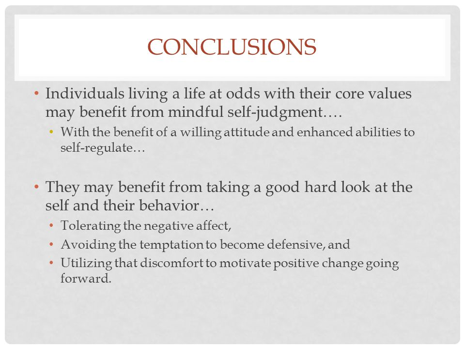 CONCLUSIONS ACT-inspired interventions may help them do so