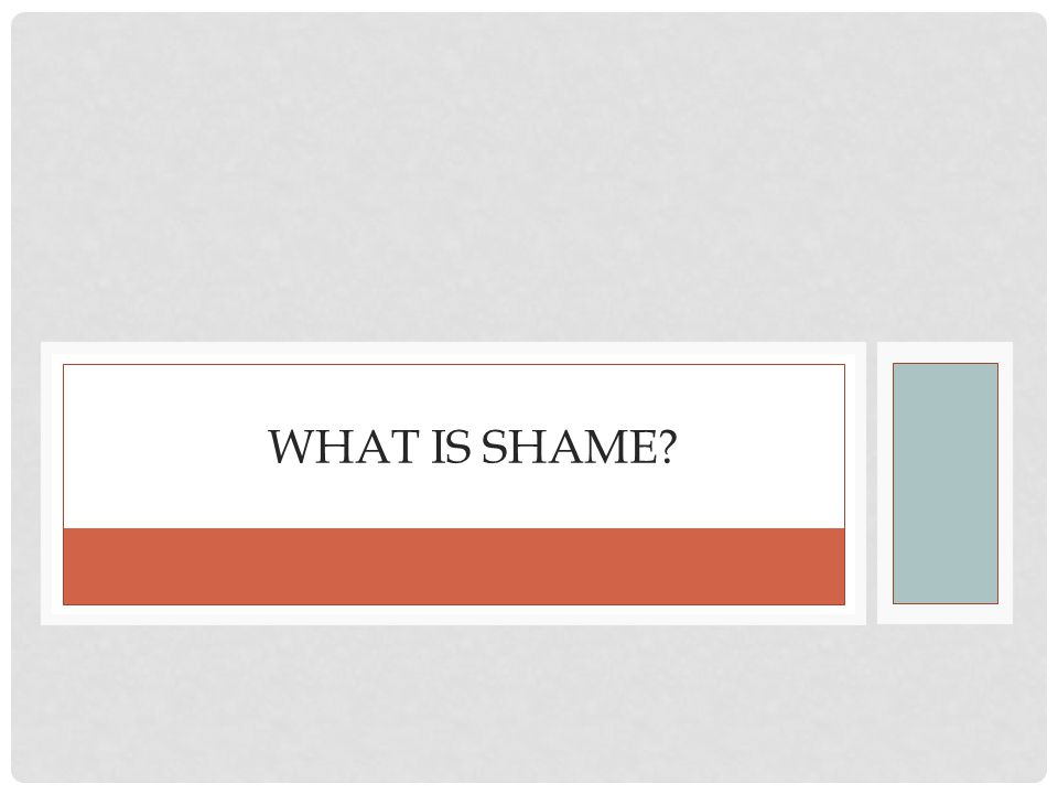 MORAL EMOTIONS: GOOD WAYS AND BAD WAYS TO FEEL BAD Shame and guilt are distinct emotions On balance, guilt is the more adaptive emotion Shame is much more problematic