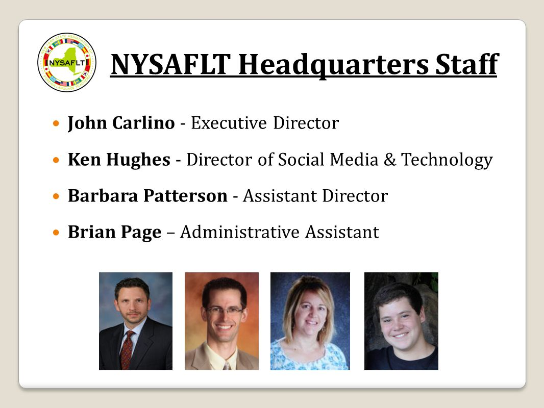 WNY Regional Directors http://nysaflt.org/regions