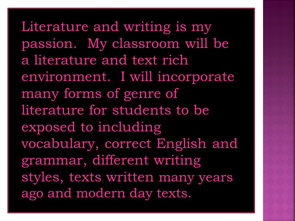 Theme Three What might my classroom look like...