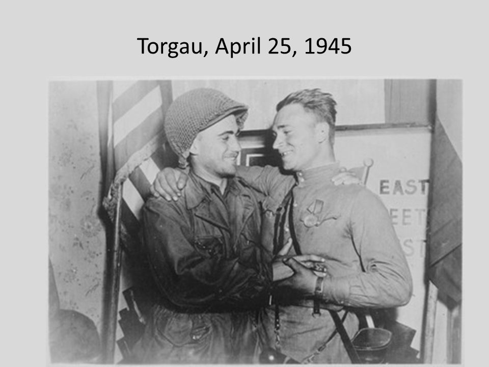 Torgau, April 25, 1945