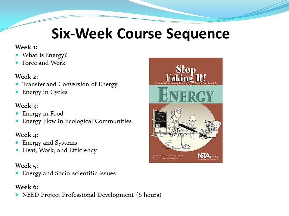 Week 1: What is Energy.