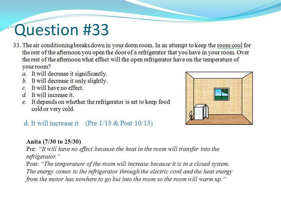 Question #33 d.