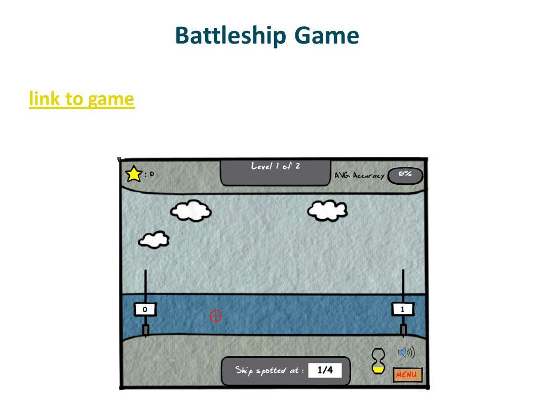 Battleship Game link to game