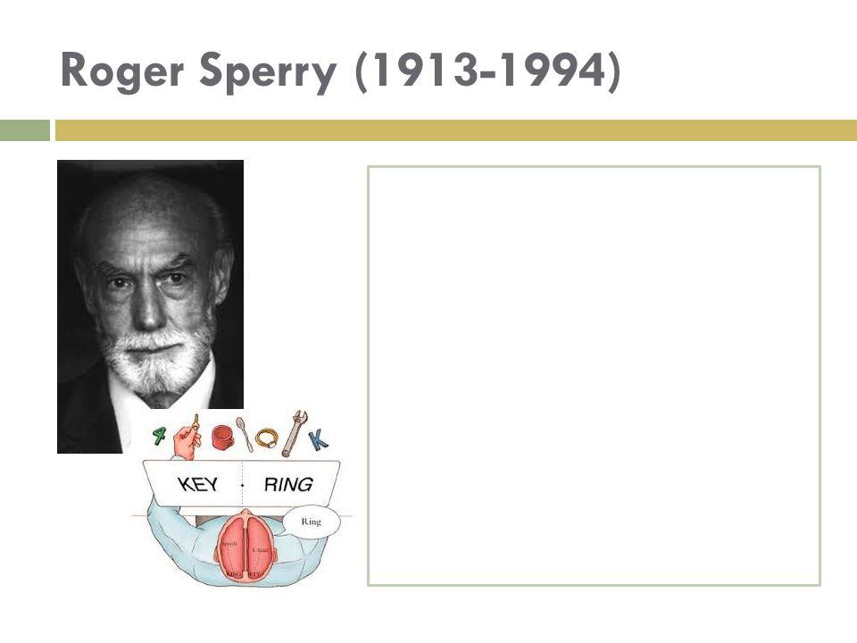 Roger Sperry (1913-1994)