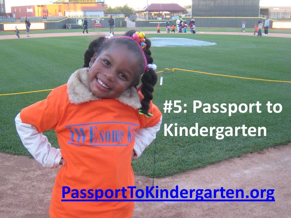 PassportToKindergarten.org #5: Passport to Kindergarten