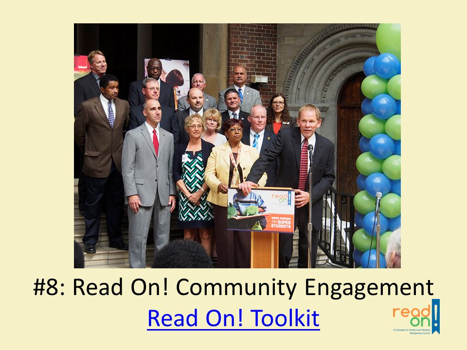 Read On! Toolkit #8: Read On! Community Engagement