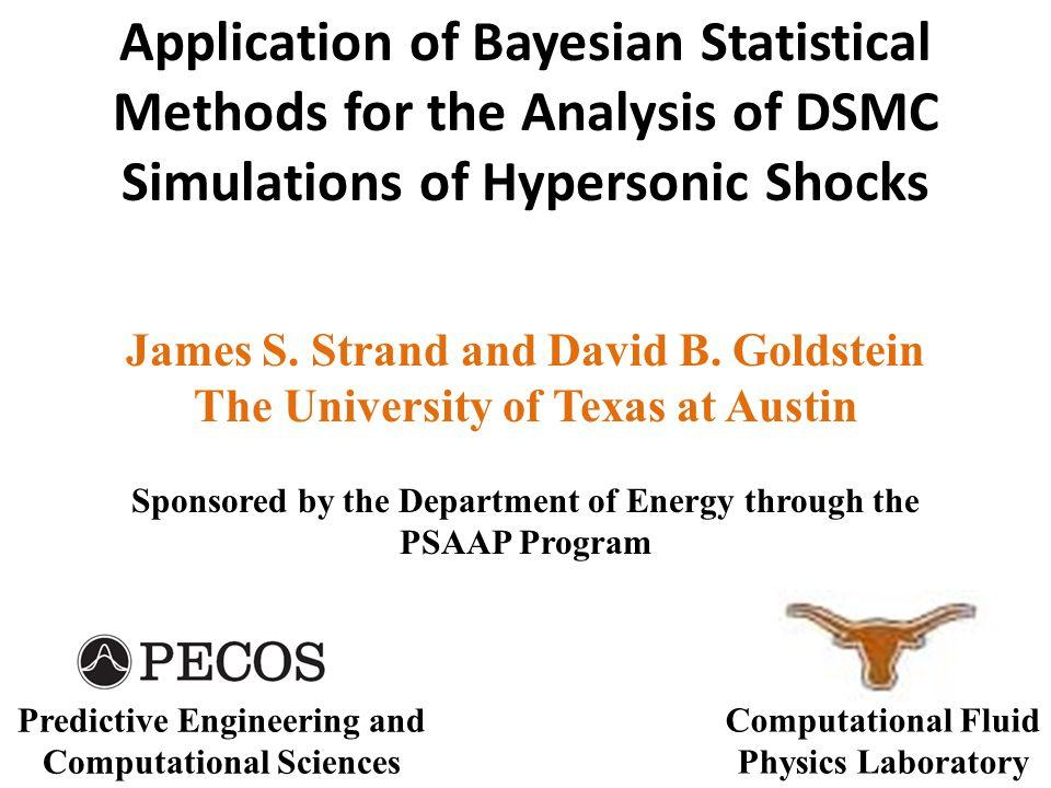 Scenario: 1-D Shock Shock speed is ~8000 m/s, M ∞ ≈ 23.