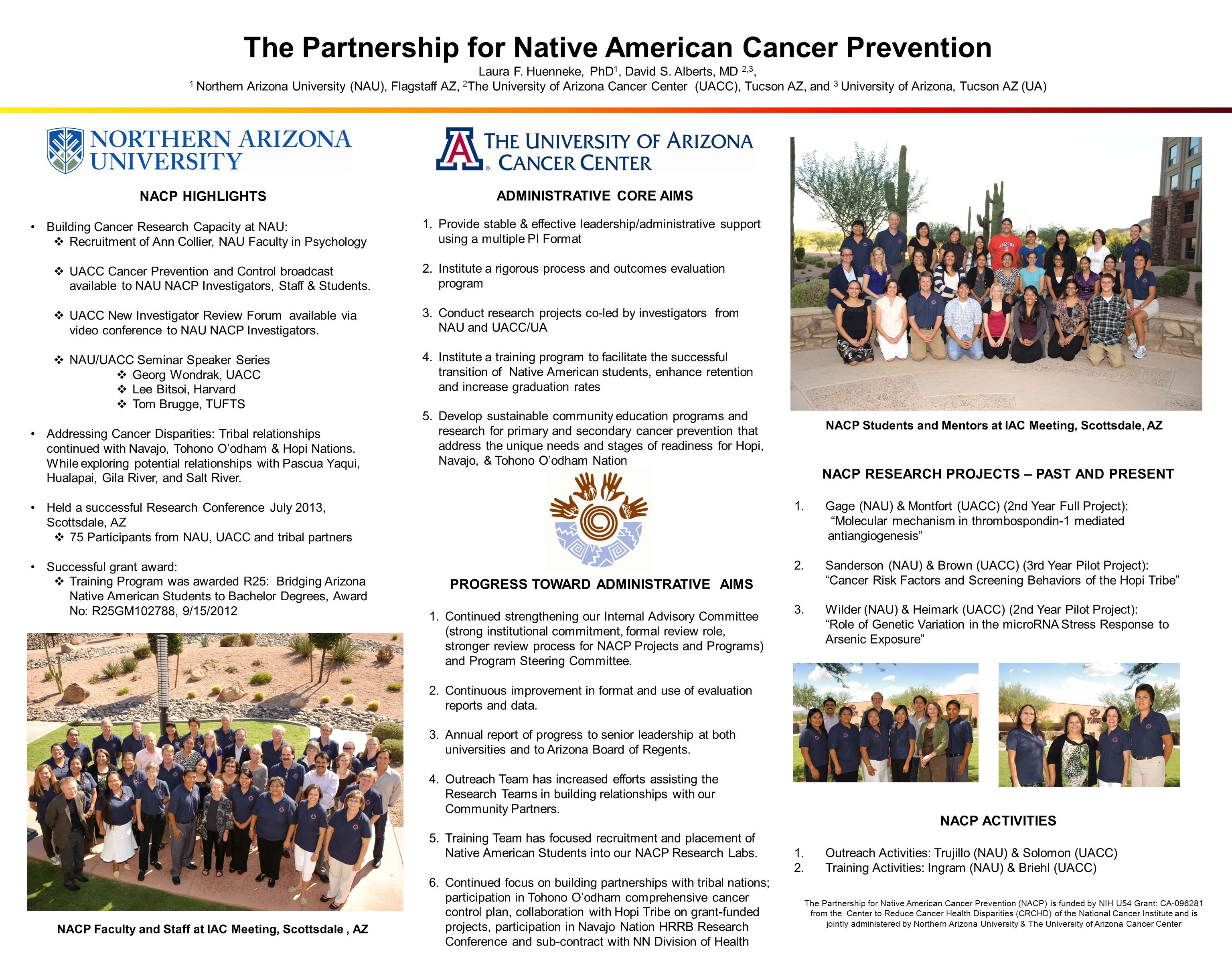The Partnership for Native American Cancer Prevention Laura F.