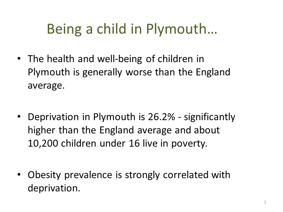 Prevalence of overweight among children National Child Measurement Programme 2011/12 4 Child overweight (including obesity)/ excess weight: BMI ≥ 85 th centile of the UK90 growth reference One in five children in Reception is overweight or obese (boys 23.5%, girls 21.6%) One in three children in Year 6 is overweight or obese (boys 35.4%, girls 32.4%)