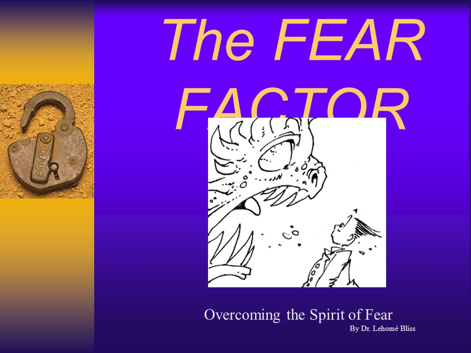 Effect of Fear on the Mind and Body When fear is present, it causes secretion of a hormone called ACTH released by the hypothalamus gland, which causes us to want to fight or run.