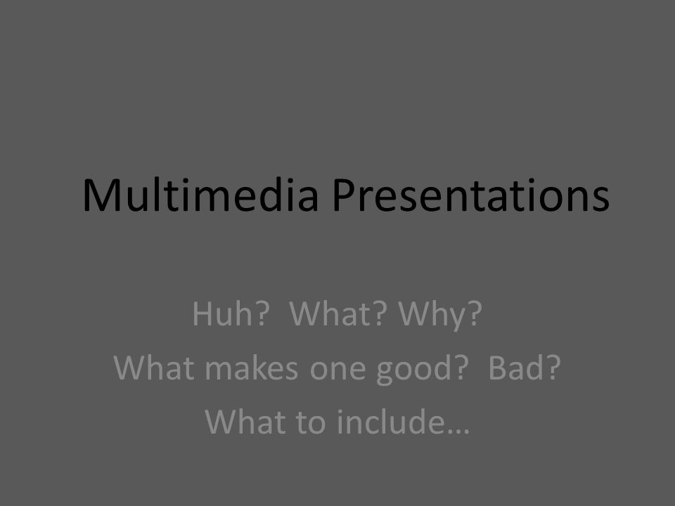 What does multimedia mean.