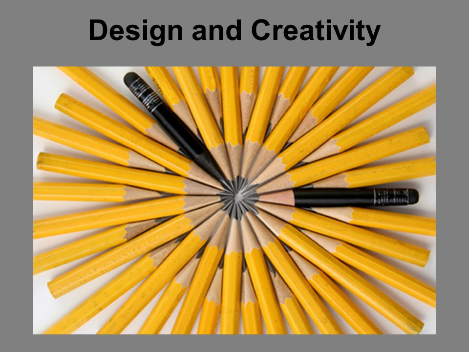 How do you work creatively.
