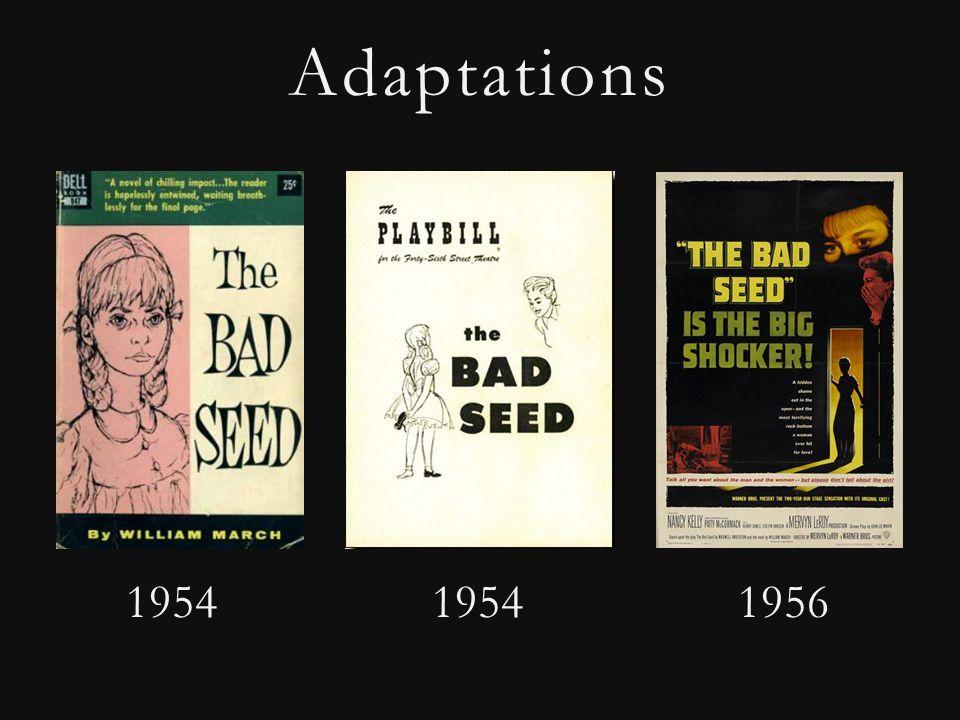 Adaptations 1954 1954 1956