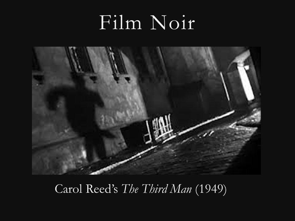 Film Noir Carol Reed's The Third Man (1949)