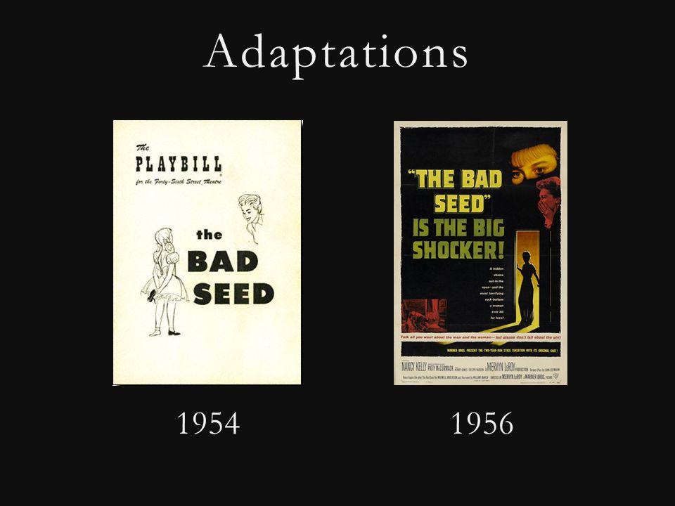 Adaptations 1954 1956