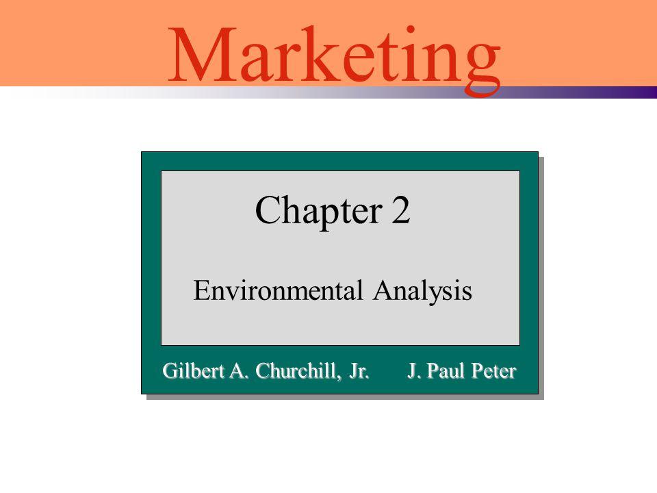 Chapter 2 Environmental Analysis Marketing Gilbert A. Churchill, Jr. J. Paul Peter