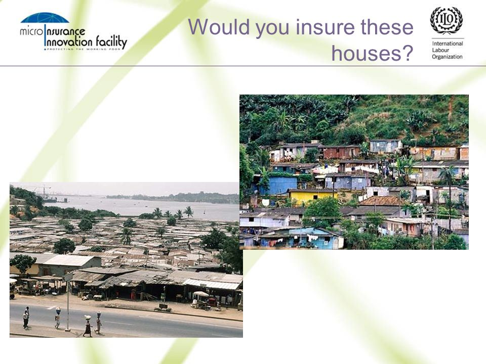Would you insure these houses