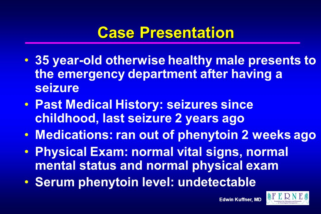 Edwin Kuffner, MD What is the risk of seizure recurrence in a patient that is discharged from the ED.