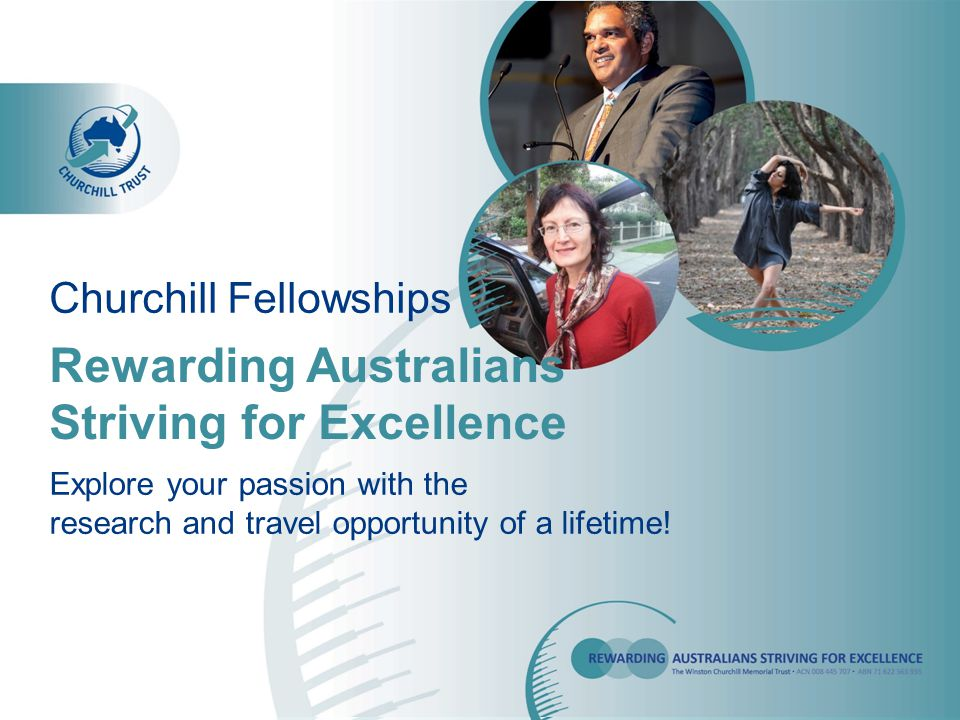 Selection Process Applicants are selected broadly on area of study, need to travel, commitment, passion, ability to return the knowledge to the Australian community A fully completed and mapped out itinerary is not required, but should be generally accurate