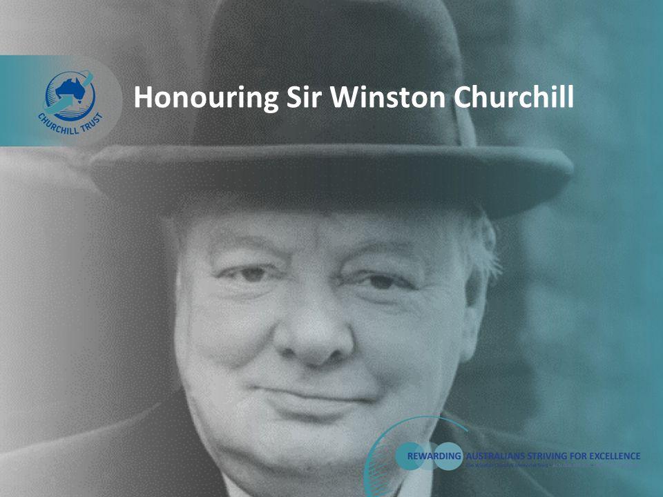 Honouring Sir Winston Churchill