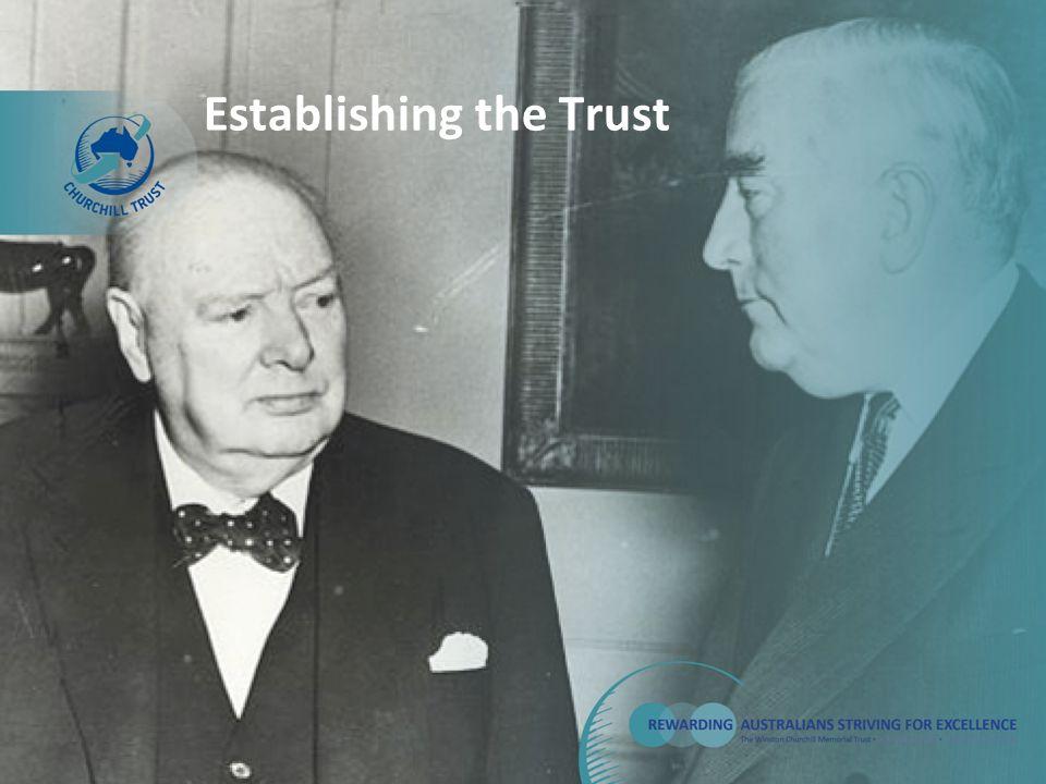 Establishing the Trust
