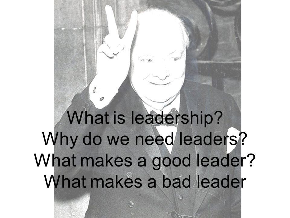 Churchill's style of leadership