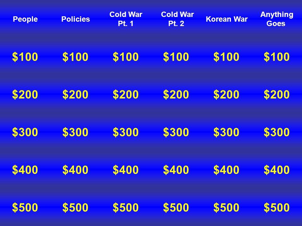 People Jeopardy
