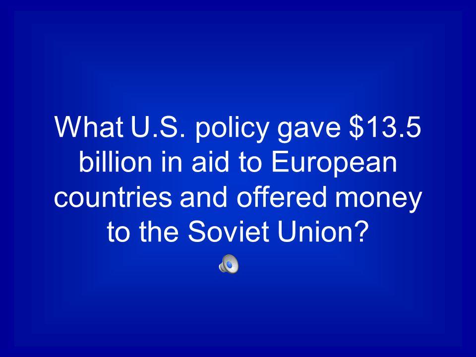 What U.S.