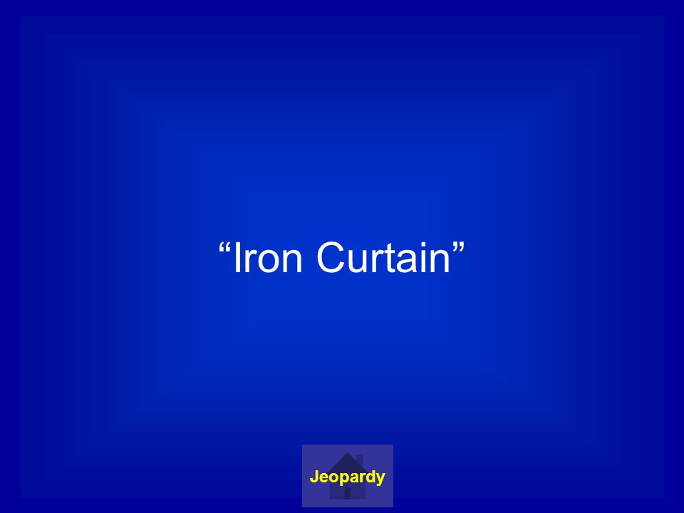 Iron Curtain Jeopardy
