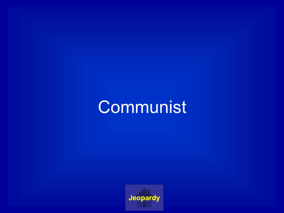 Communist Jeopardy