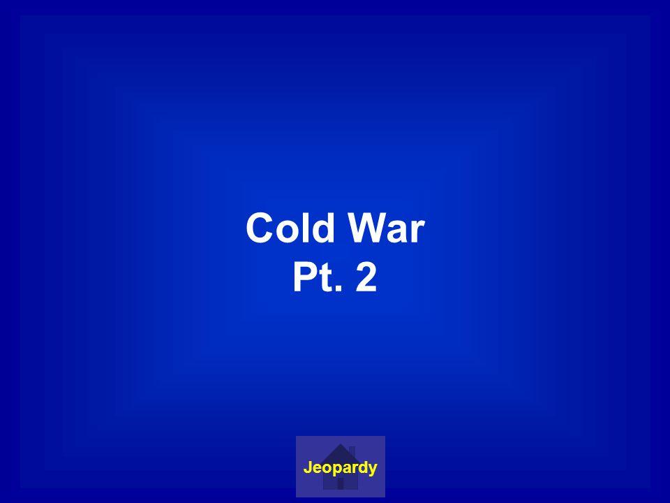 Korean War Jeopardy