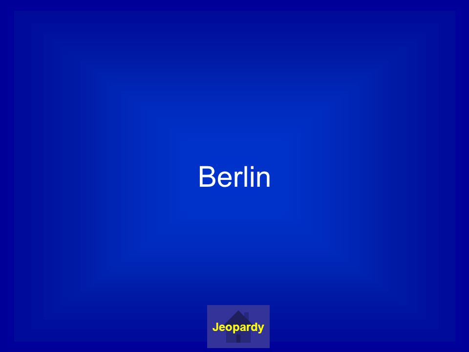 Berlin Jeopardy