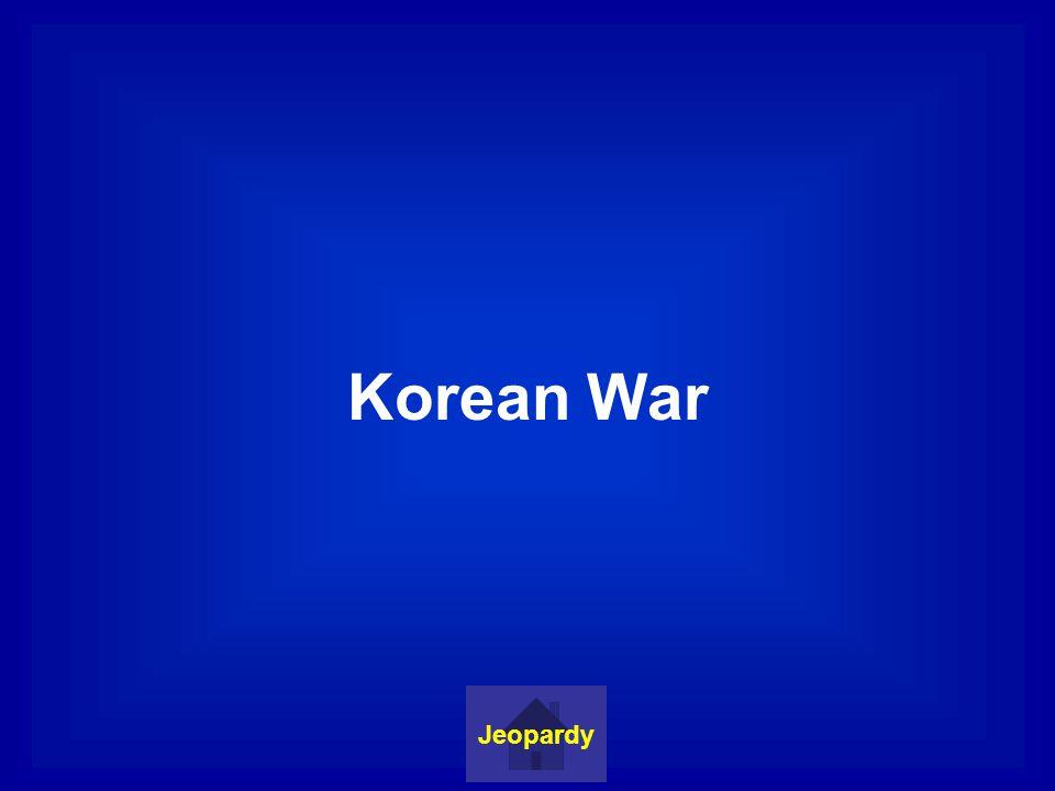 Marshall Plan Jeopardy