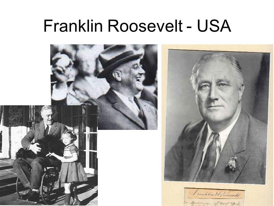 Franklin Roosevelt - USA
