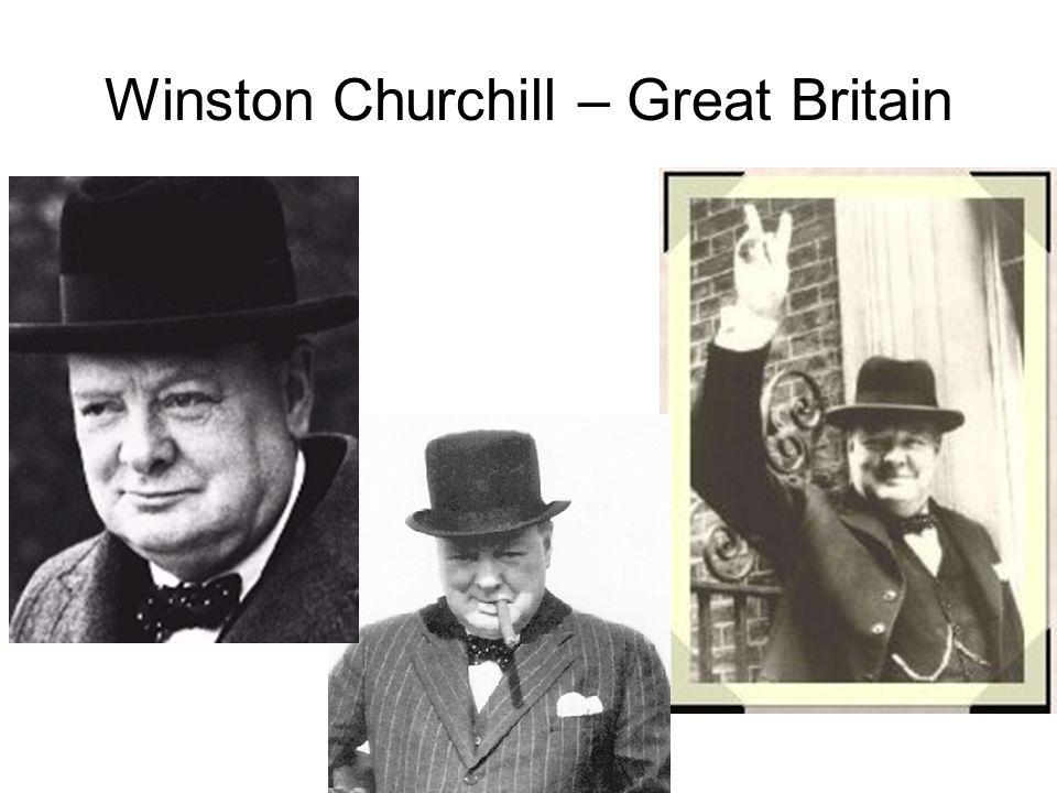Winston Churchill – Great Britain