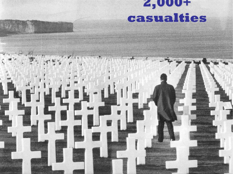 2,000+ casualties