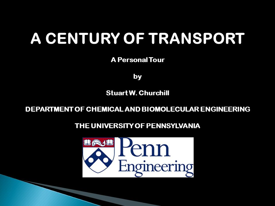 A CENTURY OF TRANSPORT A Personal Tour by Stuart W.