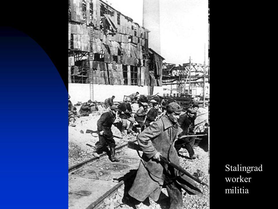 Stalingrad worker militia