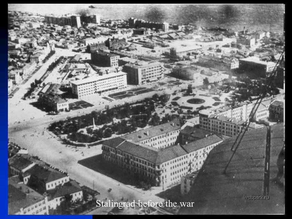 Stalingrad before the war
