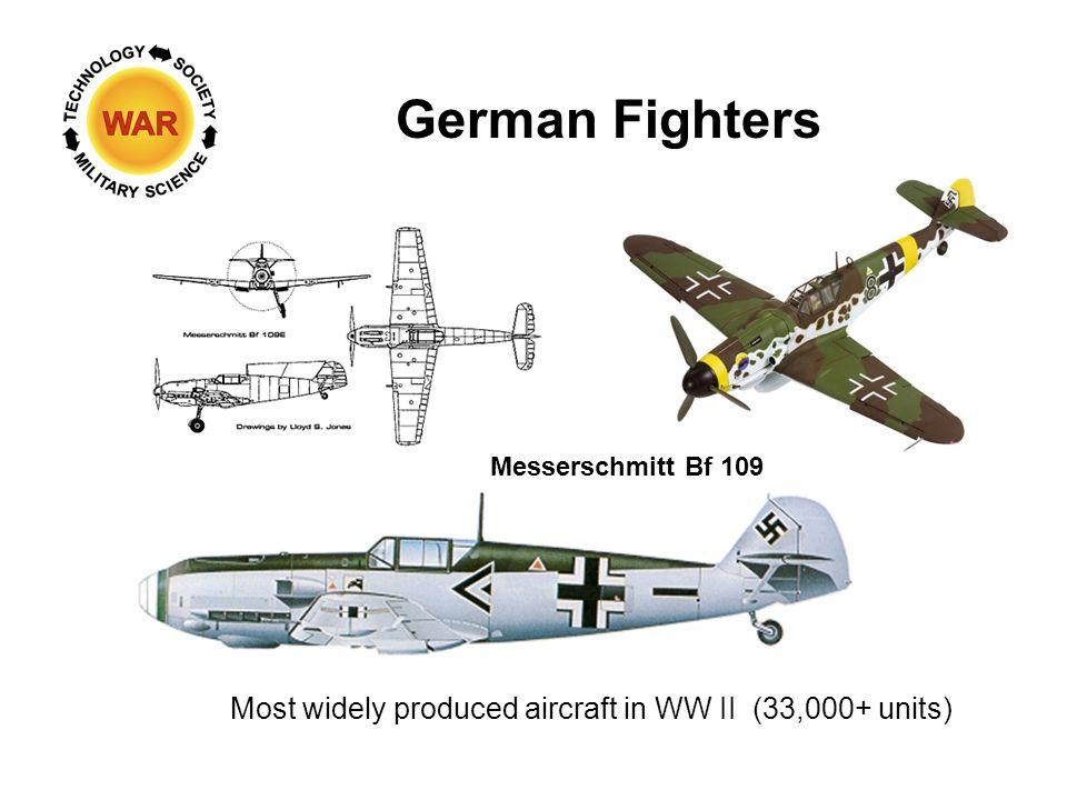 German Fighters Messerschmitt Bf 110 Zerstörer