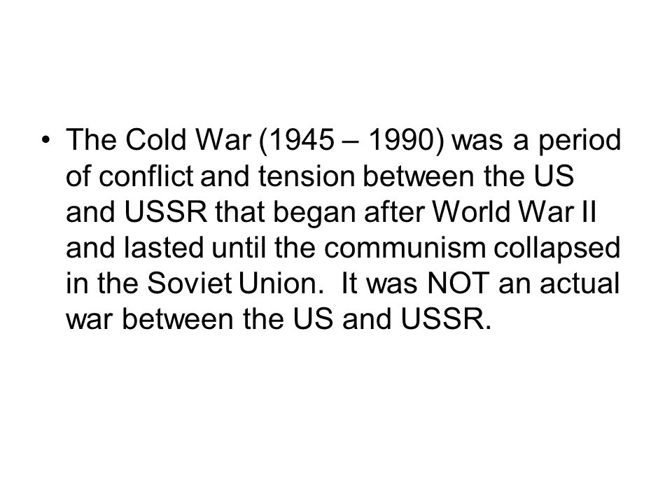 Berlin Wall comes down: 1989 Germany is officially reunited: 1990 The Soviet Union breaks up: 1991
