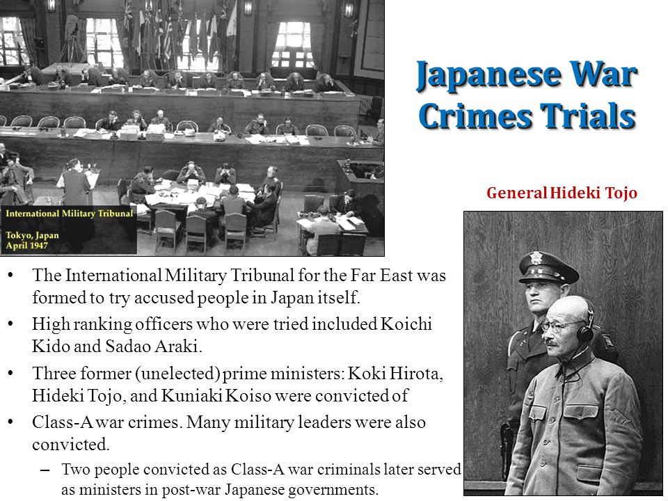 The Nuremberg War Trials: Crimes Against Humanity Twelve trials were conducted, involving more than a hundred defendants. In addition to the individua