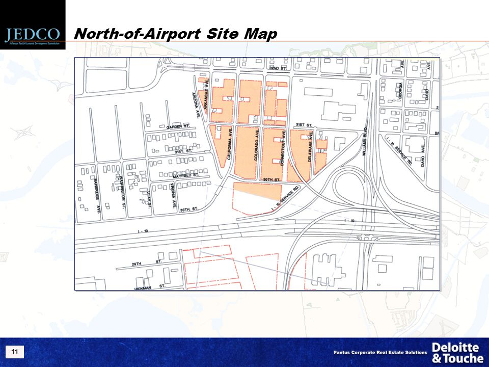 11 North-of-Airport Site Map