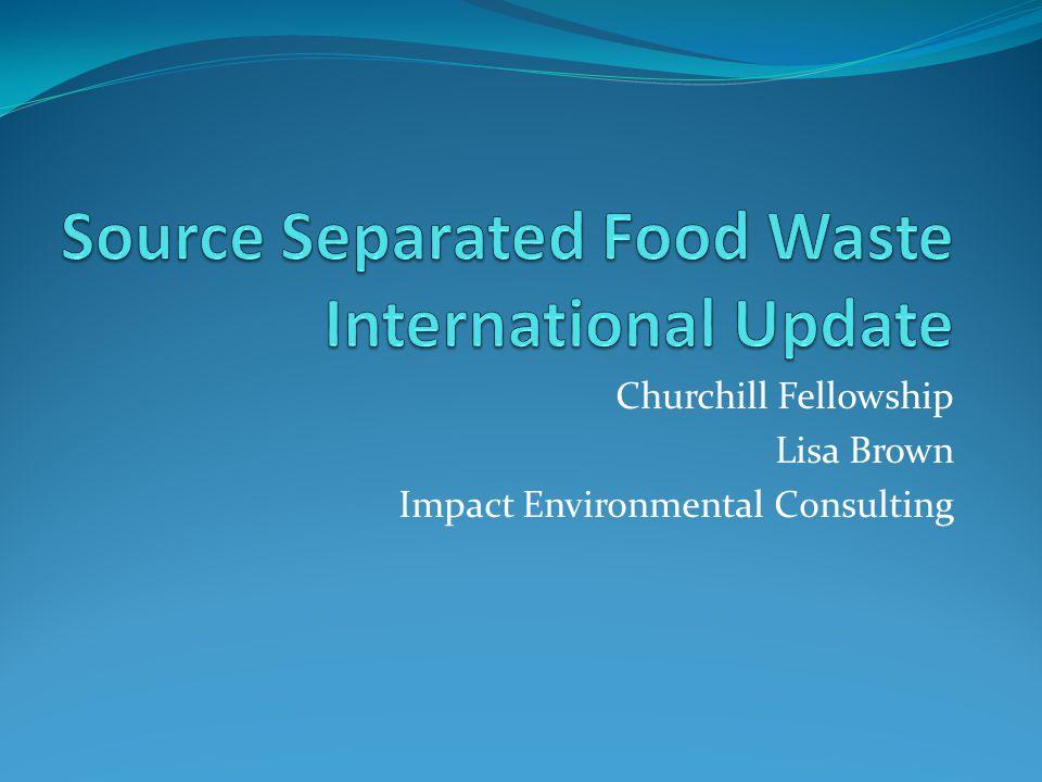 Churchill Fellowship Lisa Brown Impact Environmental Consulting