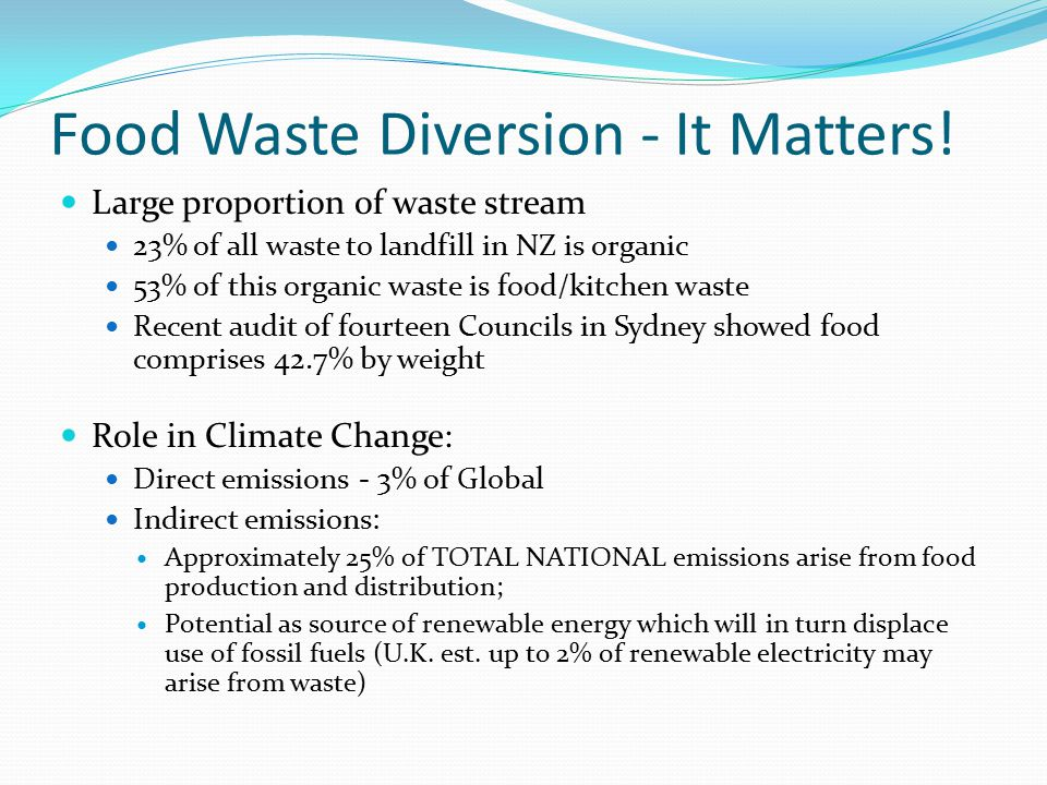 United Kingdom Very high profile issue in UK Gordon Brown commented on importance of reducing food waste Mayor of London announced 'Foodwaste to Fuel Alliance' – 10 June 09 Deliver 5 new bio-fuel plants in London by 2012; £84 million over next 3 years for waste reduction, over 1/3 is for waste to energy projects; BAA (8,000 tonnes – AD), Sainsbury (AD in London) and Keystone have joined Alliance