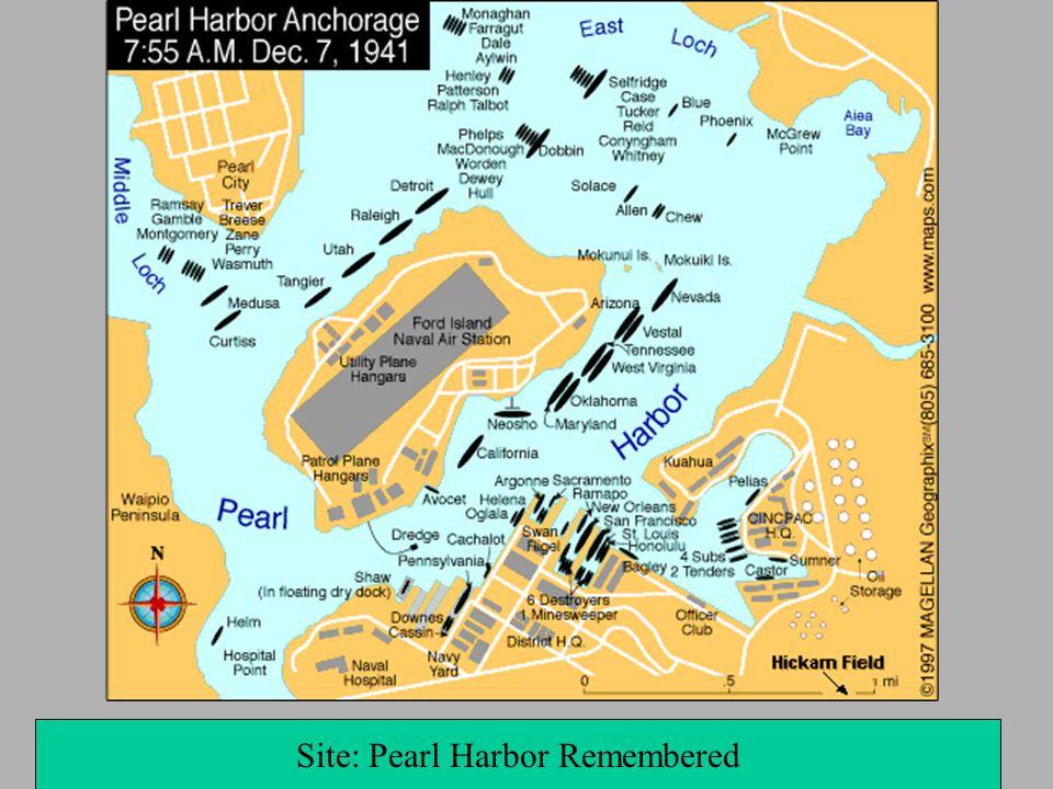 Site: Pearl Harbor Remembered