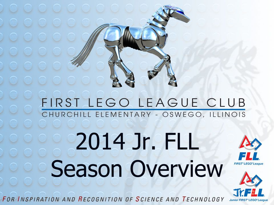 2014 Jr. FLL Season Overview