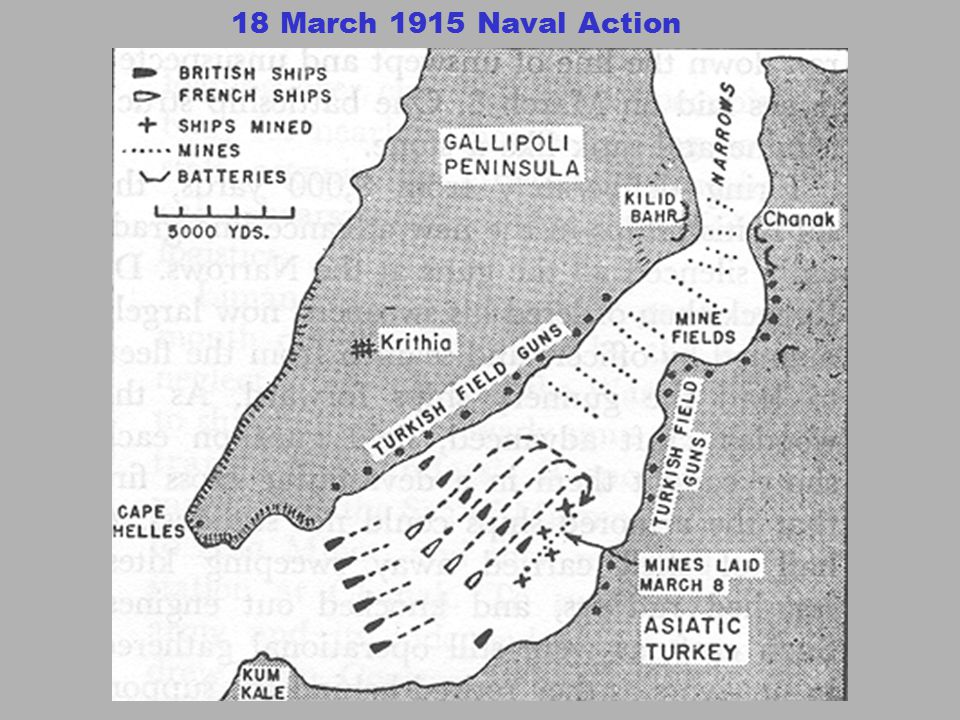 18 March 1915 Naval Action
