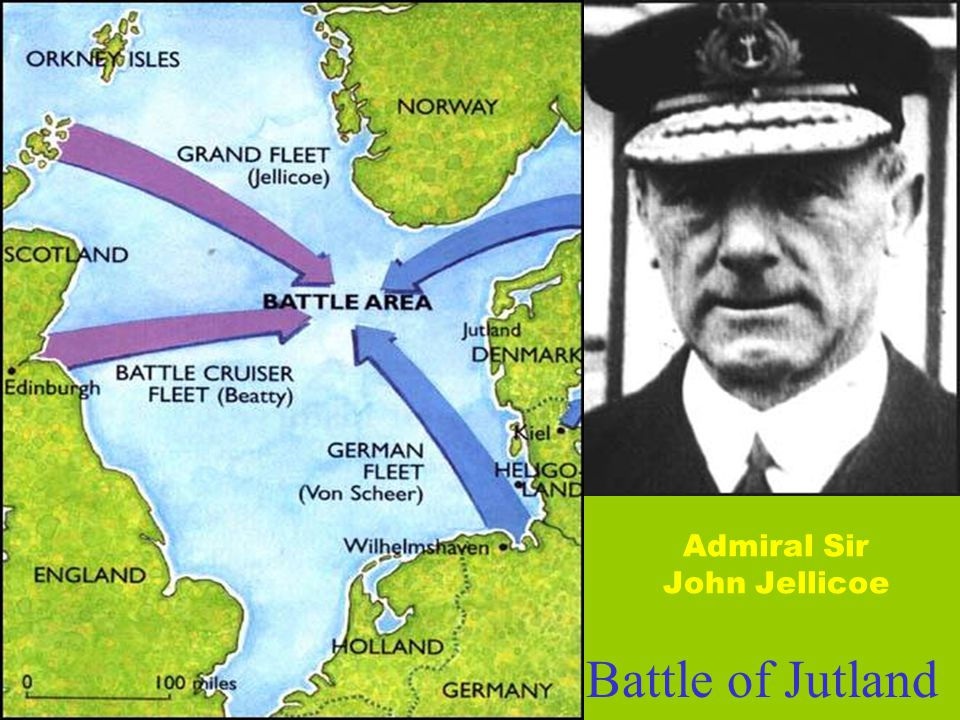 Admiral Sir John Jellicoe Battle of Jutland